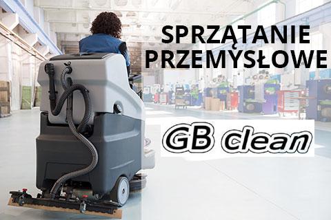 Sprzątanie przemysłowe - GB Clean